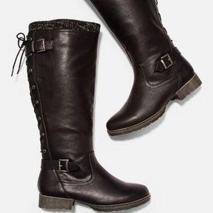 Daloa Sweater Cuff Boot